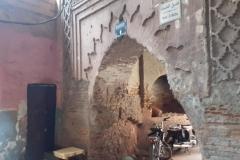 أحدةأبواب بزقاق في مراكش