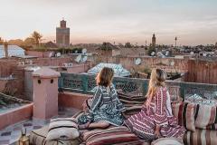 السطوح في مراكش
