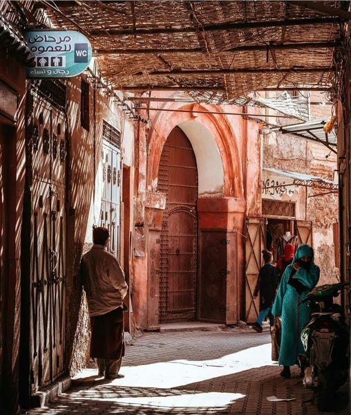 مراكش هي المدينة حيث لاتزال ألف ليلة وليلة مستمرة