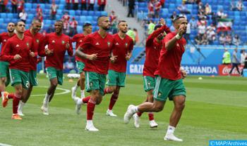 المنتخب المغربي يرتقي من المركز 35 إلى ال33
