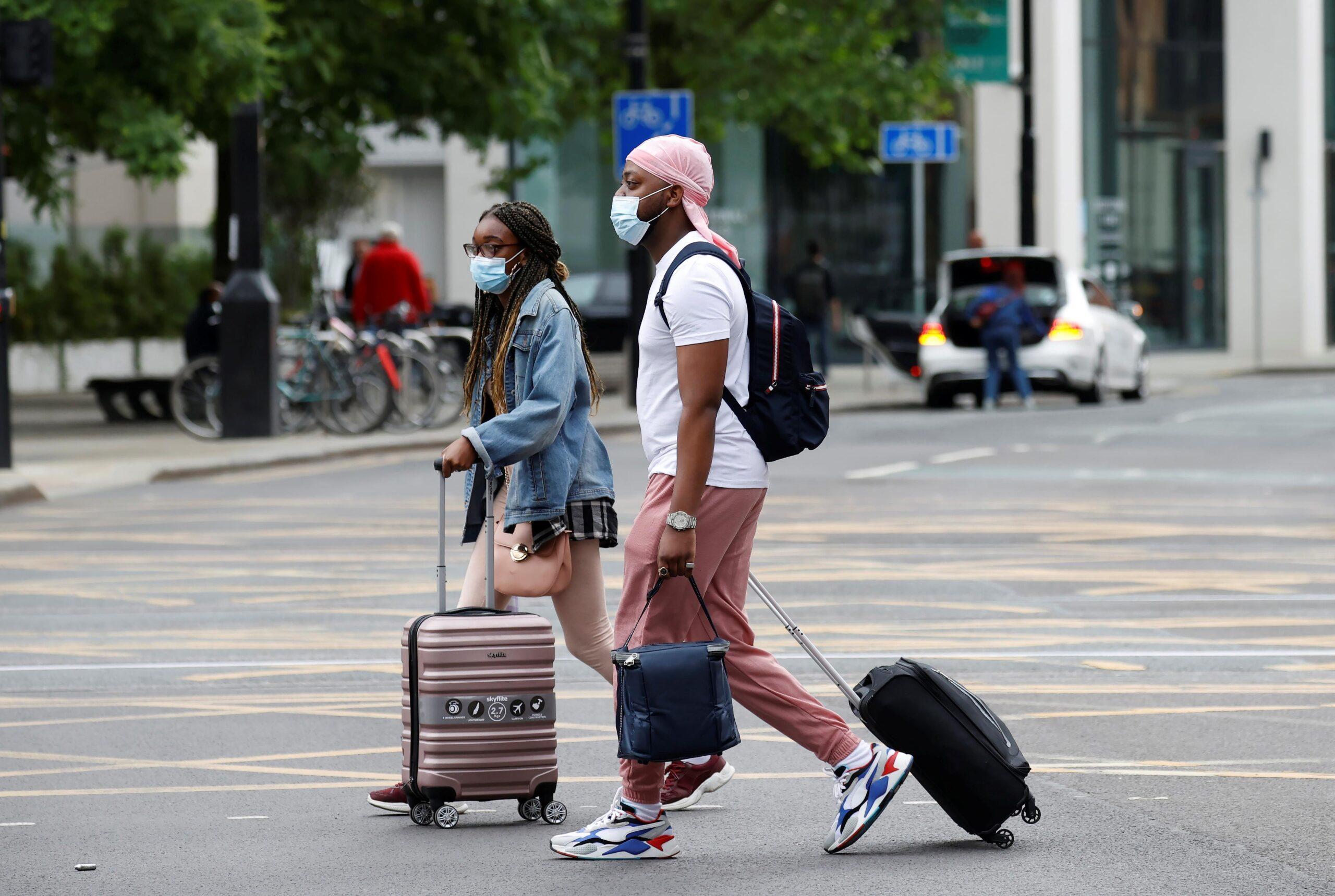 الولايات المتحدة تفتح حدودها أمام جميع المسافرين الملقحين ضد كوفيد